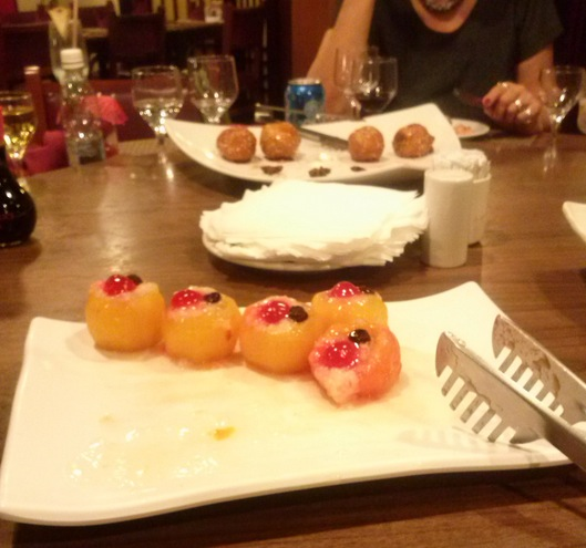 Banquete de Ano Novo Chinês no restaurante Jasmim