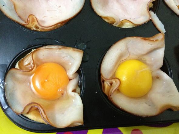Acrescente um ovo para cada lanche