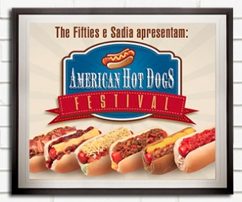 Termina hoje o Festival de Hot Dogs no The Fifties
