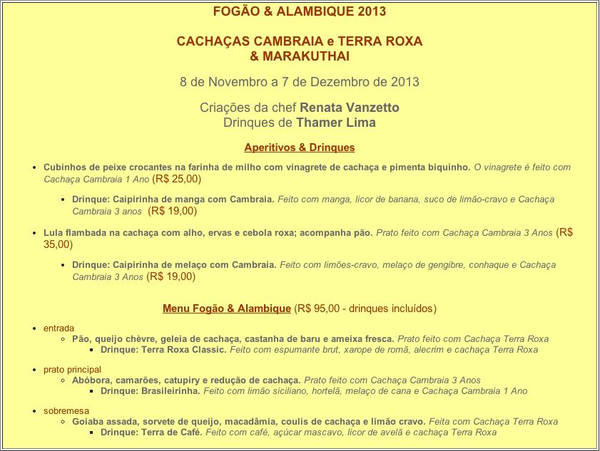 Festival Fogão e Alambique