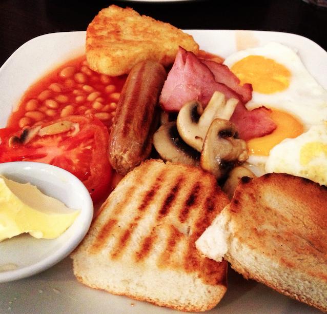Londres - Café da manhã