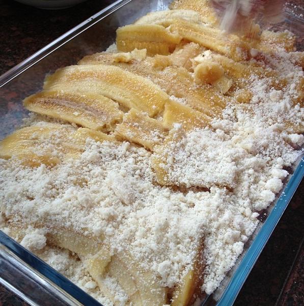 Torta de banana rápida e fácil
