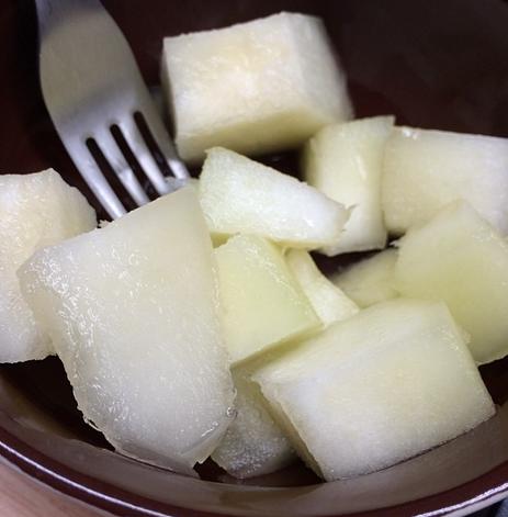 Melão congelado