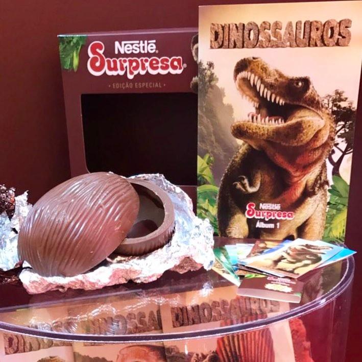 Nestle Surpresa Dinossauro