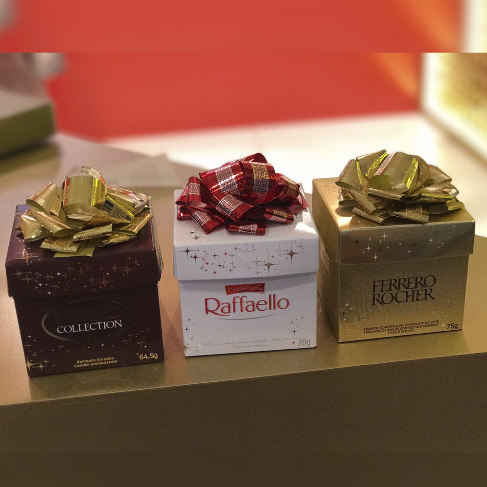 Embalagens Especiais - Ferrero Rocher